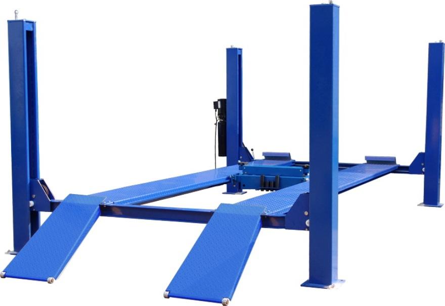 Four Post Vehicle Lift : Lb four post lift quality auto equipment