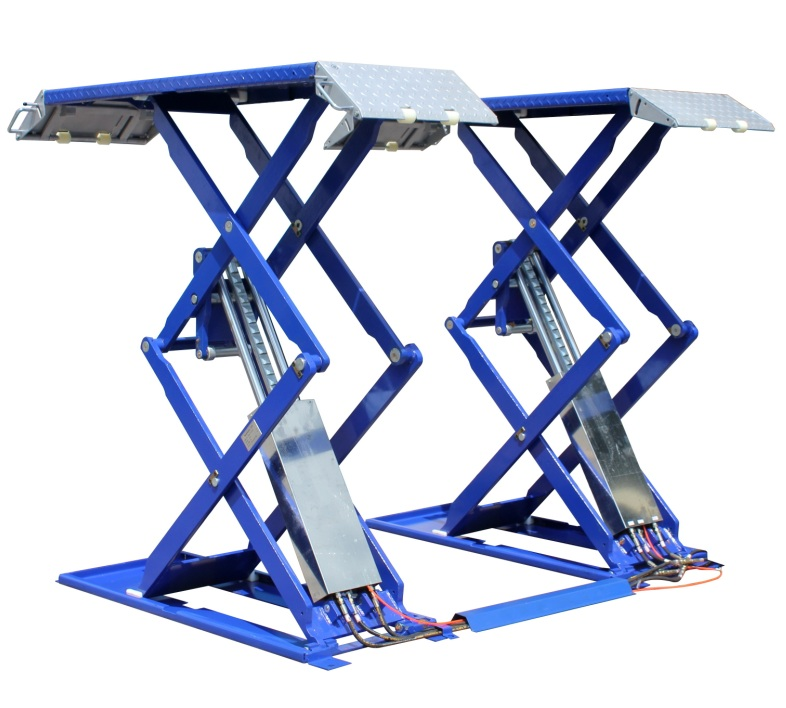 6 600 Lb High Rise Scissor Lift Quality Auto Equipment