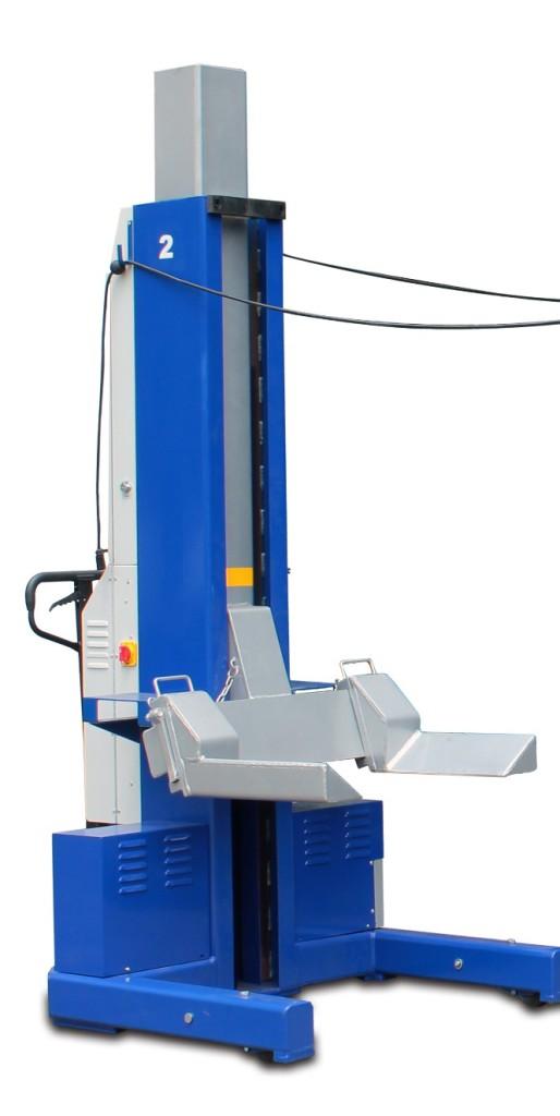 Automotive Lifts And Equipment : Msc k b single column lift quality auto equipment