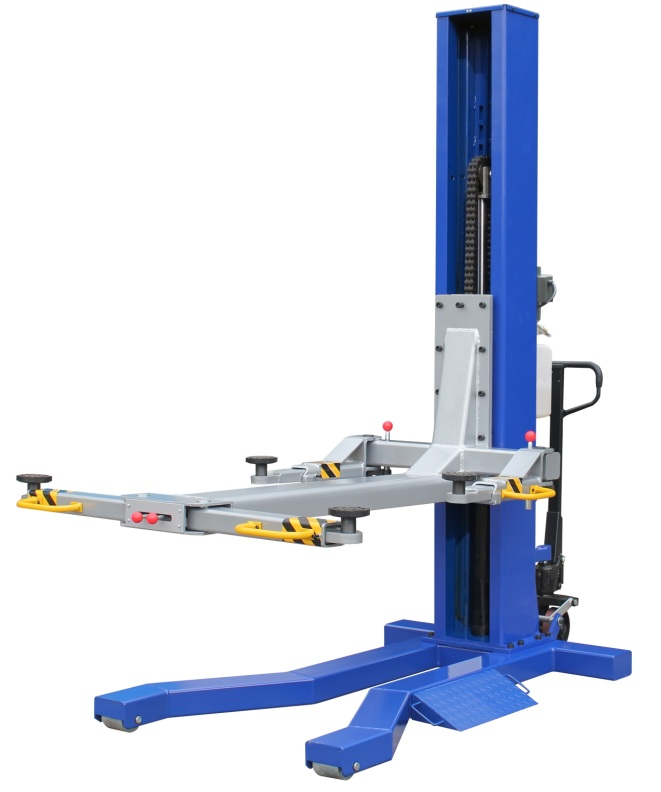 Globe Portable Auto Lift : Lb single column lift quality auto equipment